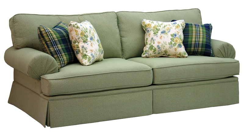 Westport Stationary Sofa In Olive