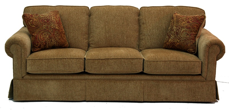 Emma Sleeper Sofa In Dune Chenille By