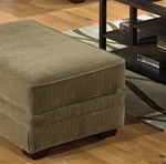 "Anniston Ottoman in ""Mineral"" Chenille by Jackson Furniture - 4342-10"
