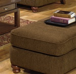 Belmont Ottoman in Chenille Fabric by Jackson Furniture - 4347-10