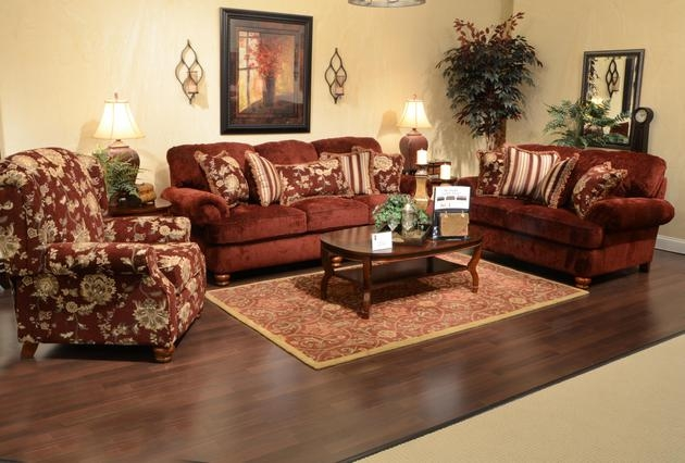Belmont Claret Accent Reclining Chair By Jackson Furniture