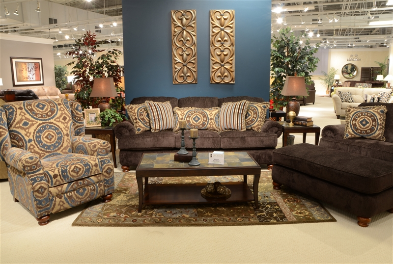 Belmont Mahogany Accent Reclining Chair By Jackson Furniture   4347 11 M