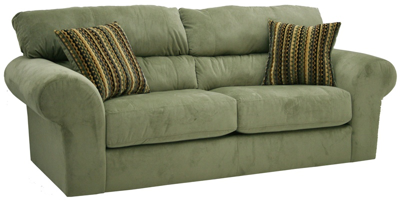 Sage Green Sofas Microfiber Sectional Sofa