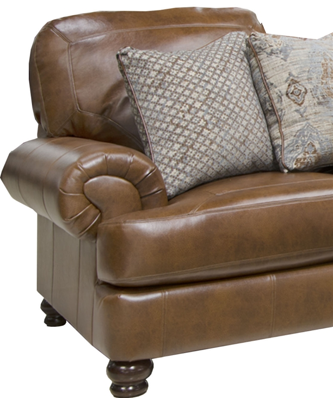 Southport Oversized Chair In Chestnut Fabric By Jackson Furniture    4367 01 CH