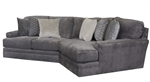Mammoth 2 Piece Sectional in Smoke Fabric by Jackson Furniture - 4376-02P-S