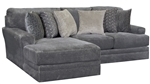 Mammoth 2 Piece Sectional in Smoke Fabric by Jackson Furniture - 4376-2C-S