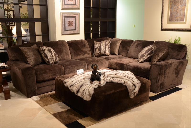 Everest 4 Piece Modular Sectional by Jackson - 4377-04-CH