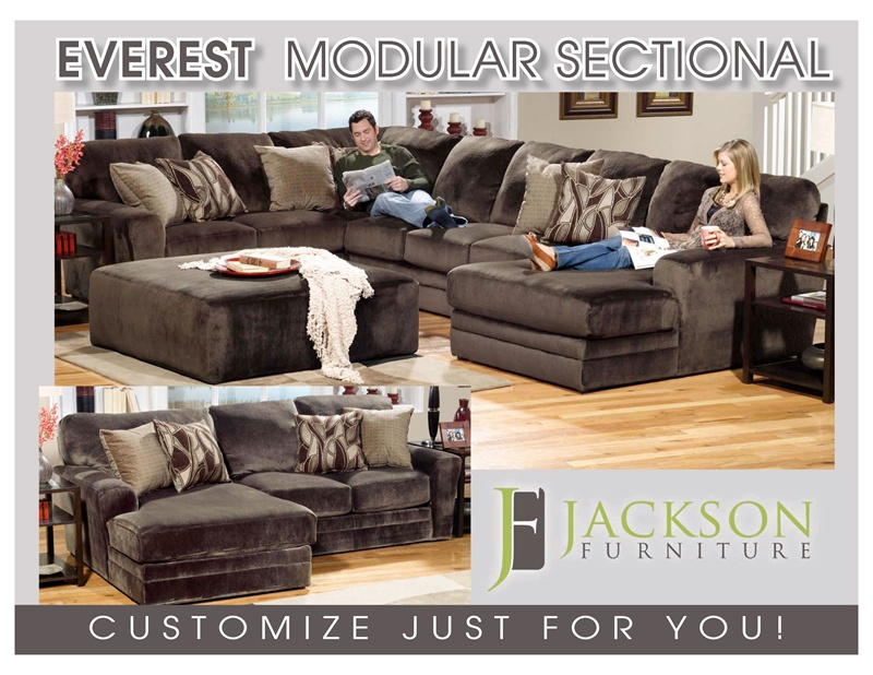 Everest Fully Modular Sectional By Jackson  BUILD YOUR PERSONAL DESIGN    4377