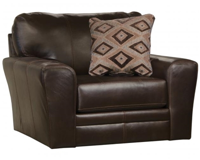 Denali Chair in Chocolate Leather by Jackson Furniture - 4378-01-CH