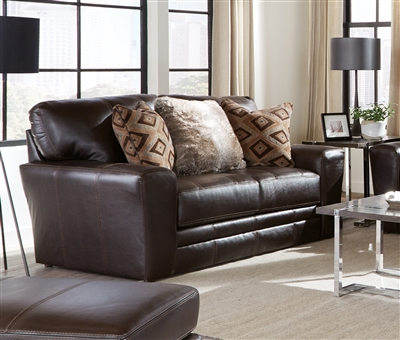 Denali Loveseat in Chocolate Leather by Jackson Furniture - 4378-02-CH