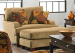 Hartwell Chair in Nuggett Color Fabric by Jackson - 4379-01