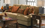 Hartwell Sofa in Nuggett Color Fabric by Jackson - 4379-03