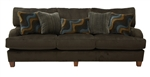 Hartwell Sofa in Chocolate Color Fabric by Jackson - 4379-03-CH