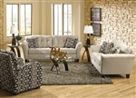 Halle 2 Piece Set in Doe Color Fabric by Jackson - 4381-SET-D