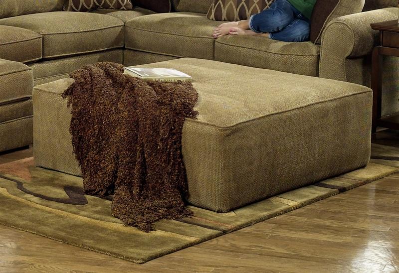 Magnitude Oversized Ottoman In Desert Chenille Fabric By Jackson Furniture 4390 28