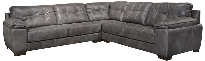 jackson furniture 4396. hudson 3 piece sectional in steel fabric by jackson furniture 4396secs 4396 s