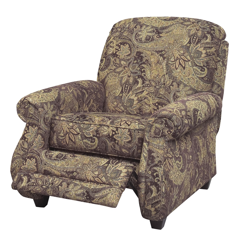 Suffolk Accent Reclining Chair In Caravan Fabric By Jackson Furniture    4426 11