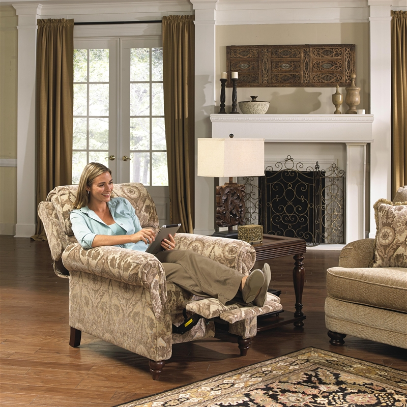 Brennan Reclining Chair in Camel Patter Fabric by Jackson Furniture - 4438-11-C & Brennan Reclining Chair in Camel Patter Fabric by Jackson ... islam-shia.org
