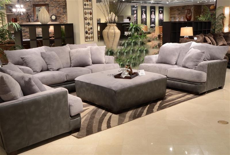 Barkley 2 Piece Sofa Set in Grey Fabric by Jackson Furniture - 4442-S-G