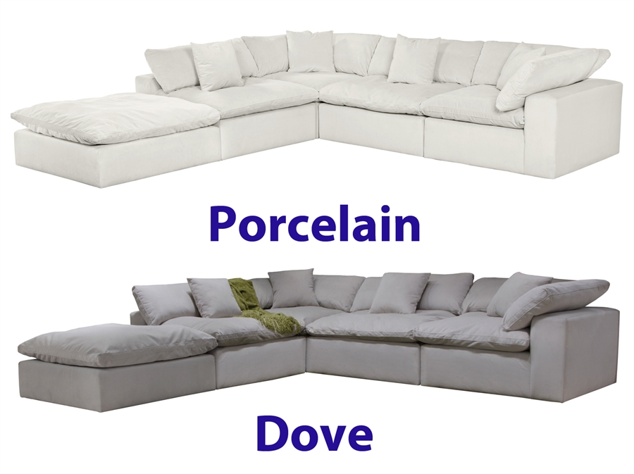 Posh 2 Piece Sectional Sofa In