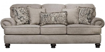 Freemont Sofa in Pewter Fabric by Jackson Furniture - 4447-03