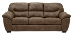 Grant Sofa in Silt Leather by Jackson Furniture - 4453-03-S