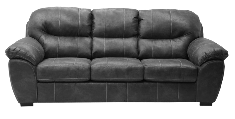 Grant Sofa In Steel Leather By Jackson Furniture 4453 03 St