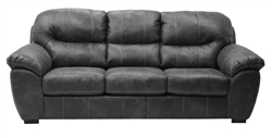 Grant Sofa in Steel Leather by Jackson Furniture - 4453-03-ST