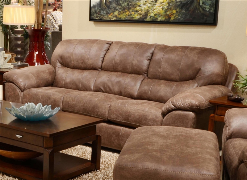 Lovely Grant Sofa Sleeper In Silt Leather By Jackson Furniture 4453 04 S