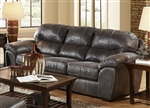 Grant Sofa Sleeper in Steel Leather by Jackson Furniture - 4453-04-ST