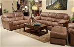 Grant 2 Piece Set in Silt Leather by Jackson Furniture - 4453-S-S