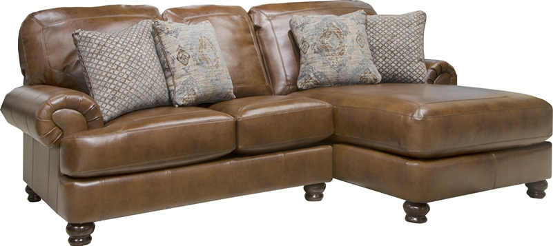 Southport 2 Piece Sectional in Espresso or Chestnut Fabric by Jackson Furniture - 4467-SEC-02  sc 1 st  Home Cinema Center : espresso sectional - Sectionals, Sofas & Couches