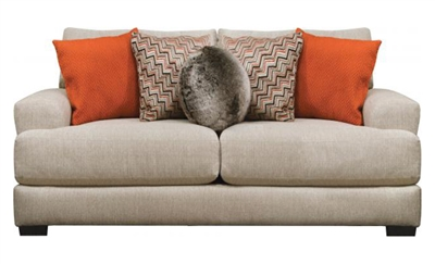 Ava Loveseat in Cashew Fabric by Jackson Furniture - 4498-02-C