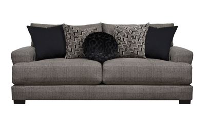 Ava Sofa in Pepper Fabric by Jackson Furniture - 4498-03-P