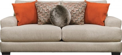 Ava Sofa with USB Port in Cashew Fabric by Jackson Furniture - 4498-13-C