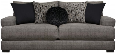Ava Sofa with USB Port in Pepper Fabric by Jackson Furniture - 4498-13-P