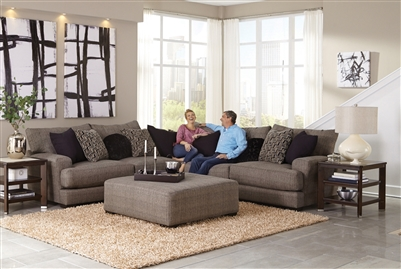 Ava 2 Piece Set in Pepper Fabric by Jackson Furniture - 4498-P