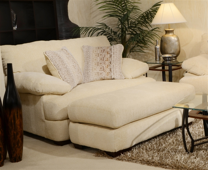 Oversized Ottoman Living Rooms Couch