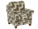 Hartwell Bronze Accent Chair in Pattern Fabric by Jackson - 798-27-B