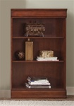 Louis Jr Executive 48-Inch Bookcase in Deep Cherry Finish by Liberty Furniture - 101-HO3048