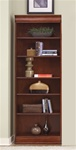 Louis Jr Executive 84-Inch Bookcase in Deep Cherry Finish by Liberty Furniture - 101-HO3084