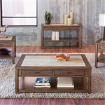 Mesa Valley Cocktail Table in Tobacco Finish by Liberty Furniture - 147-OT