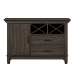 Double Bridge Sideboard in Dark Chestnut Finish by Liberty Furniture - 152-SB5436