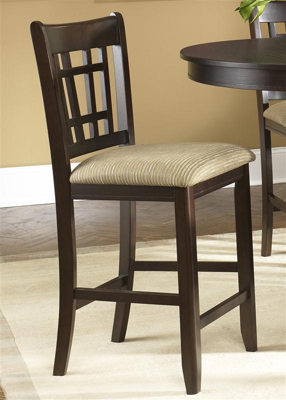 santa rosa pub table 3 piece dining set in merlot finish by liberty furniture 20pub4260