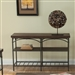 Franklin 48 Inch Sofa Table TV Stand in Rustic Brown Finish by Liberty Furniture - 202-OT1030