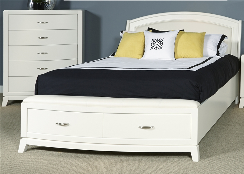 Avalon Storage Bed in White Truffle Finish by Liberty Furniture ...