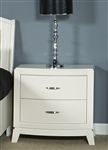 Avalon Nightstand in White Truffle Finish by Liberty Furniture - 205-BR61
