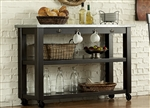 Keaton Server in Charcoal Finish by Liberty Furniture - LIB-219-SR5666