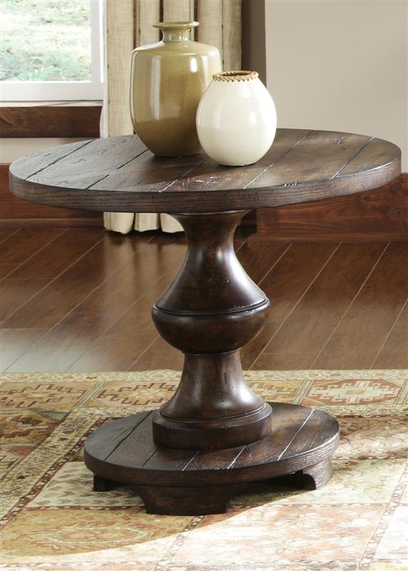 sedona cocktail table in kona brown finishliberty furniture