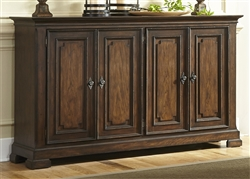 Armand Buffet in Antique Brownstone Finish by Liberty Furniture - 242-CB6440